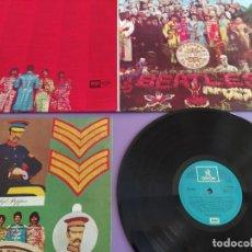 Discos de vinilo: LP PORTADA DOBLE 33 RPM / THE BEATLES / SGT PEPPERS CLUB BAND /// EMI ODEON 10 C 0 + ENCARTE.SPAIN.. Lote 222925132
