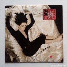 Discos de vinilo: SIOUXSIE & THE BANSHEES – KISS THEM FOR ME / RETURN UK 1991. Lote 222927506