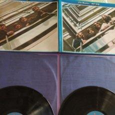 Discos de vinilo: DOBLE LP. THE BEATLES - ALBUM AZUL - 1967 - 1970 .. SPAIN 1973 CARPETA ABIERTA - APPLE J 162 05.309. Lote 222928928