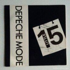 Discos de vinilo: DEPECHE MODE – LITTLE 15 / STJARNA UK 1988. Lote 222929596