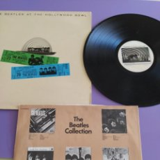 Discos de vinilo: GENIAL.THE BEATLES - THE BEATLES AT THE HOLLYWOOD BOWL - EMI ODEON 10 C 064-06377. AÑO 1977.SPAIN. Lote 222931176
