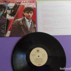 Disques de vinyle: GENIAL LP. EL ÚLTIMO DE LA FILA. 040 7981571 EMI 1991 - ENEMIGOS DE LO AJENO - CON ENCARTE. Lote 222937995