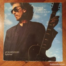 "Discos de vinilo: GEORGE HARRISON - GOT MY MIND SET ON YOU (12"", MAX) (DARK HORSE RECORDS) 920 802-0 (1987/ES). Lote 222942636"