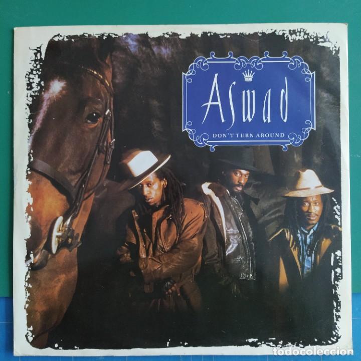 "ASWAD - DON'T TURN AROUND (12"", SINGLE) (MANGO, ISLAND RECORDS) 12 IS 341 (1988/UK) (Música - Discos de Vinilo - Maxi Singles - Reggae - Ska)"
