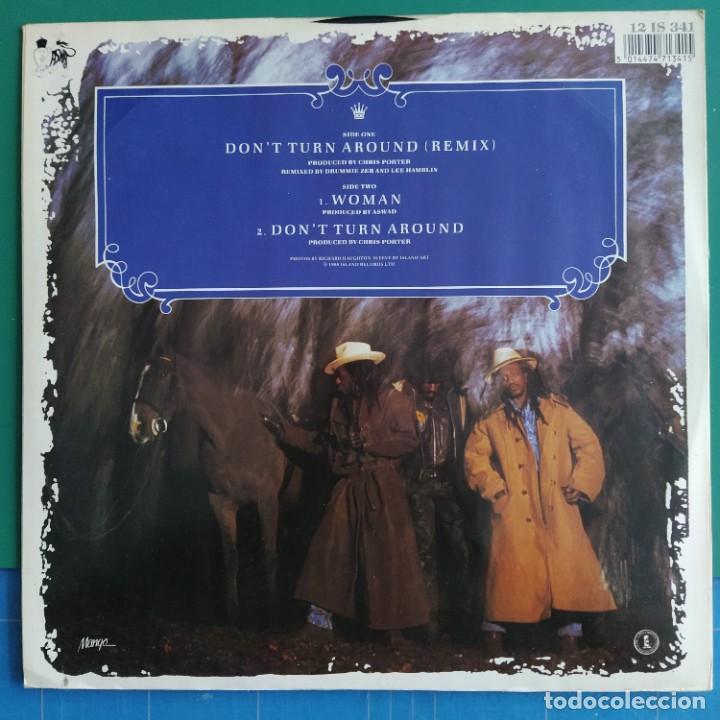 "Discos de vinilo: Aswad - Dont Turn Around (12"", Single) (Mango, Island Records) 12 IS 341 (1988/UK) - Foto 2 - 248443555"