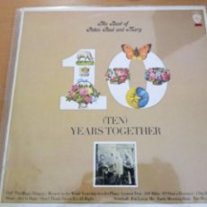 Discos de vinilo: PETER PAUL AND MARY THE BEST OF LP. Lote 222948498