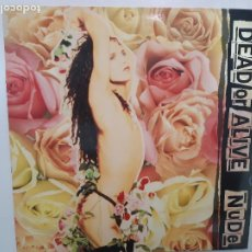 Discos de vinilo: DEAD OR ALIVE- NUDE- SPAIN LP 1989 + ENCARTE- EXC. ESTADO.. Lote 222961250
