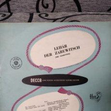 Discos de vinilo: LLEGAR DER ZAREWITSCH. Lote 222968372