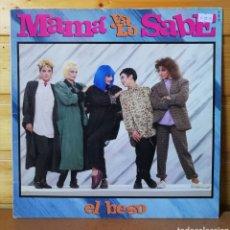 Disques de vinyle: LP ALBUM , MAMA YA LO SABE. Lote 222971043