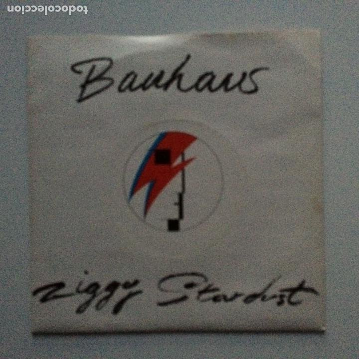 BAUHAUS – ZIGGY STARDUST / THIRD UNCLE UK 1982 (Música - Discos - Singles Vinilo - Punk - Hard Core)