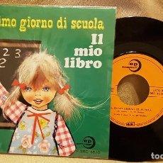 Discos de vinilo: IL PRIMO GIORNO DE SCUOLA - LI MIO LIBRO. Lote 222974226