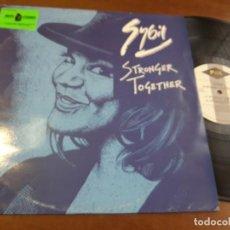Discos de vinilo: SYBIL – STRONGER TOGETHER-UK-1993-. Lote 222977567