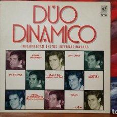 Discos de vinilo: *** DÚO DINÁMICO - INTERPRETAN ÉXITOS INTERNACIONALES - LP AÑO 1986 - LEER DESCRIPCIÓN. Lote 222986792