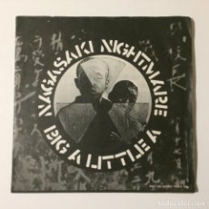 Discos de vinilo: CRASS – NAGASAKI NIGHTMARE / BIG A LITTLE A UK 1980. Lote 222991121