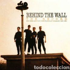 Discos de vinilo: BEHIND THE WALL - THE RECORD. NEW WAVE AND POST-PUNK FROM EAST GERMANY 1983-1990. DOBLE LP VINILO. Lote 222991141