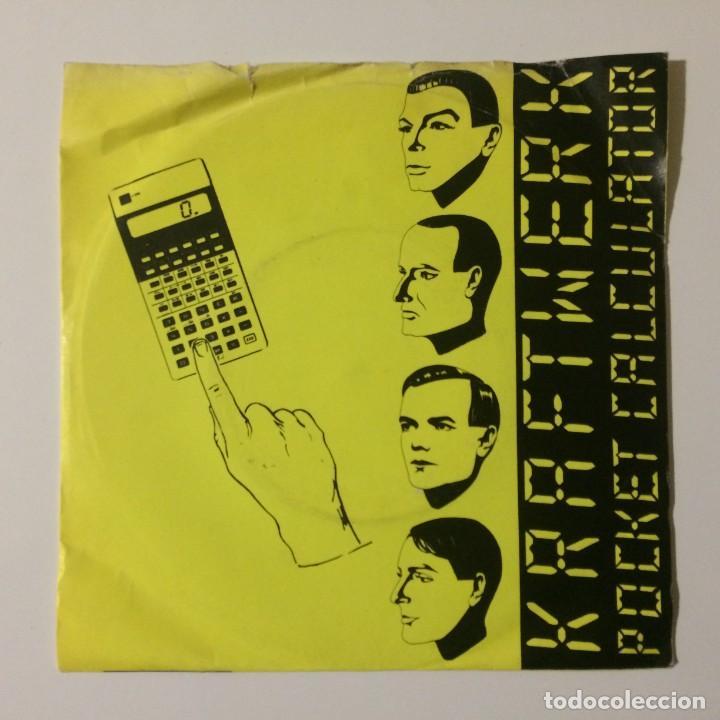KRAFTWERK – POCKET CALCULATOR / DENTAKU UK 1981 (Música - Discos - Singles Vinilo - Electrónica, Avantgarde y Experimental)