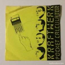 Discos de vinilo: KRAFTWERK ‎– POCKET CALCULATOR / DENTAKU UK 1981. Lote 222991500