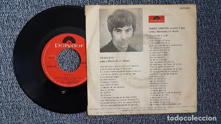 Discos de vinilo: Rafa - En Galicia / Nubes, viento, algas y sal. Editado por Polydor. año 1.971 - Foto 2 - 222991693