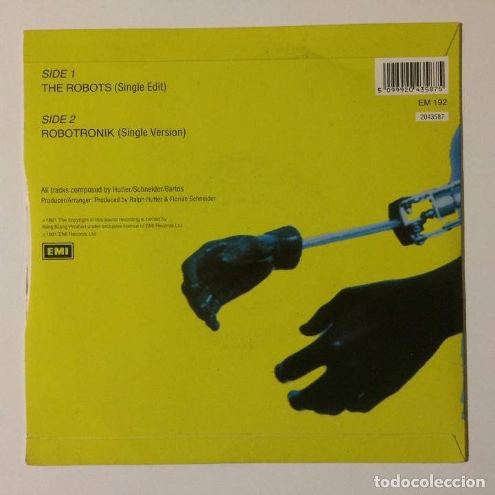 Discos de vinilo: Kraftwerk – The Robots / Robotronik UK 1991 - Foto 2 - 222992042
