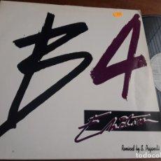 Discos de vinilo: B4 / EMOTION (2 VERSIONES) MAXI 1991. Lote 222992787