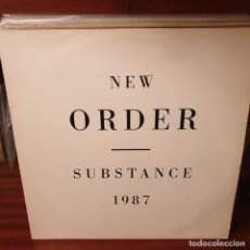 Disques de vinyle: NEW ORDER / SUBSTANCE 1987 / DOBLE ALBUM / EDICIÓN ESPAÑOLA / NUEVOS MEDIOS 1987. Lote 222994405