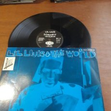 Discos de vinilo: LIL LOUIS & THE WORLD I CALLED U (ORIGINAL MIX) MAXI-UK-1989-. Lote 223016573