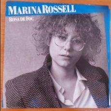 Discos de vinilo: LP MARINA ROSSEL - ROSA DE FOC. Lote 223018822