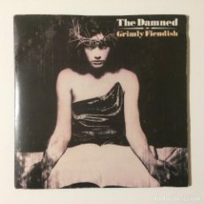 Discos de vinilo: THE DAMNED – GRIMLY FIENDISH / EDWARD THE BEAR UK 1985. Lote 223019041