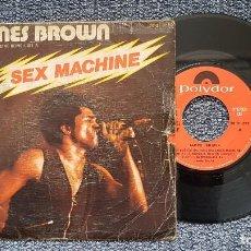 Discos de vinilo: JAMES BROWN - GEP UP I FEEL LIKE BEING LIKE A SEX MACHINE PRT. 1 Y 2, EDITADO POR POLYDOR. AÑO 1.974. Lote 223022461