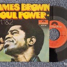 Discos de vinilo: JAMES BROWN - SOUL POWER. PART 1 Y 2. EDITADO POR POLYDOR. AÑO 1.971. Lote 223022690