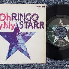 Discos de vinilo: RINGO STARR - OH MY MY / STEP LIGHTLY. EDITADO POR EMI. AÑO 1.974. Lote 223024823