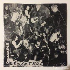 Discos de vinilo: DISCHARGE – DECONTROL UK 1980. Lote 223026322