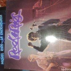 Discos de vinilo: MIGUEL RÍOS 5 LPS+SINGLES. Lote 223028448