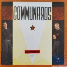 Discos de vinilo: MAXI SINGLE COMMUNARDS - DISESCHANTED/ESPAÑA/1986. Lote 223030835