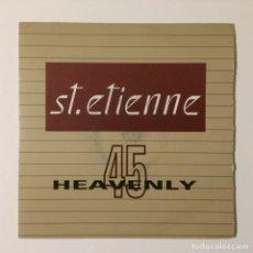 Discos de vinilo: ST. ETIENNE – ONLY LOVE CAN BREAK YOUR HEART / FILTHY UK 1991. Lote 223032867