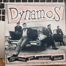 "Disques de vinyle: DYNAMOS - AL RITMO DE LOS DYNAMOS(2X7"", SINGLE, GAT. KIKOS EKS 9204, EKS 9205. NEAR MINT/ NEAR MINT. Lote 223044550"
