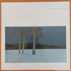 Discos de vinilo: LP GEORGE WINSTON - DECEMBER/GERMANY/1982. Lote 223053123
