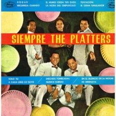Disques de vinyle: THE PLATTERS - SIEMPRE THE PLATTERS - LP 1962. Lote 223058141