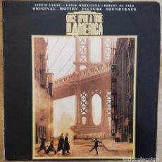 Disques de vinyle: ENNIO MORRICONE - ONCE UPON A TIME IN AMERICA LP SOUNDTRACK 1984 -RARA EDICION ESPAÑOLA. Lote 223061841