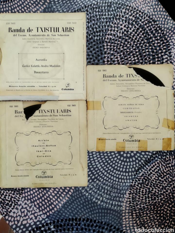 Discos de vinilo: LOTE VINILOS BANDA DE TXISTULARIS DEL EXCELENTÍSIMO AYUNTAMIENTO DE SAN SEBASTIÁN - Foto 2 - 223071741