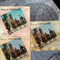 Discos de vinilo: LOTE VINILOS BANDA DE TXISTULARIS DEL EXCELENTÍSIMO AYUNTAMIENTO DE SAN SEBASTIÁN. Lote 223071741