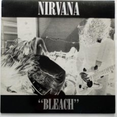 Discos de vinilo: LP NIRVANA - BLEACH. 1989. 1ª EDICIÓN. NUEVO. Lote 223071891