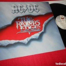 Disques de vinyle: AC&DC ACDC THE RAZORS EDGE LP 1990 ATLANTIC EDICION ALEMANA GERMANY CARPETA Y VINILO EN BUEN ESTADO. Lote 223072370