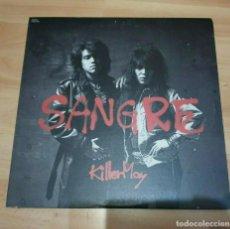Discos de vinilo: KILLER MAY - SANGRE LP (VINYL JAPAN EDITION)-BON JOVI-CINDERELLA. Lote 223087403