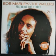 Discos de vinilo: IMPECABLE VINILO DOBLE 2 LP - BOB MARLEY & THE WAILERS - FEATURING THE I-THREE -. Lote 223094671