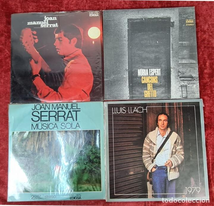 Discos de vinilo: COLECCION DE MUSICA CATALANA. 9 LP Y 27 SINGLES. VARIOS AUTORES. AÑOS 60/70. - Foto 3 - 223096476
