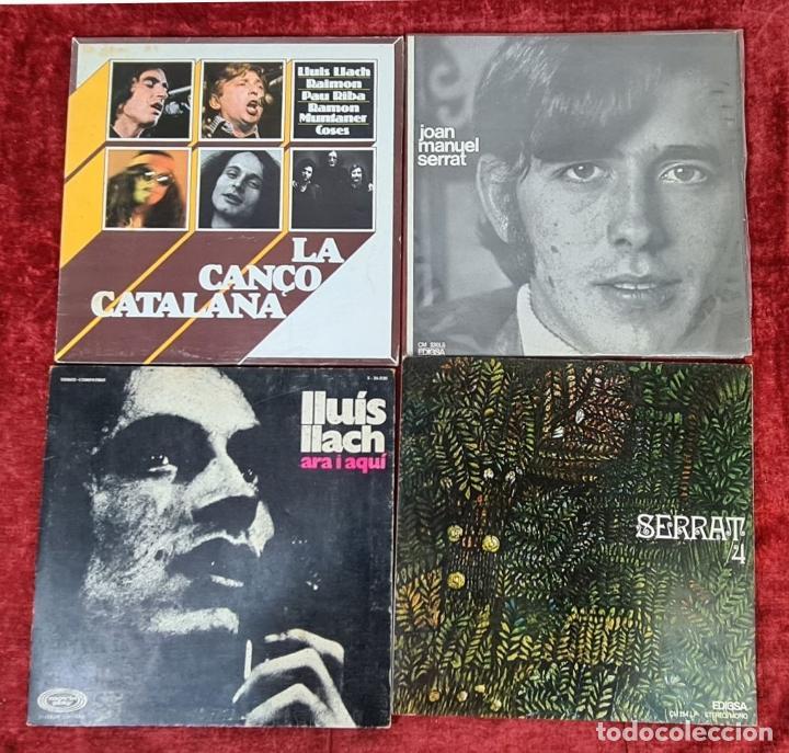 Discos de vinilo: COLECCION DE MUSICA CATALANA. 9 LP Y 27 SINGLES. VARIOS AUTORES. AÑOS 60/70. - Foto 4 - 223096476