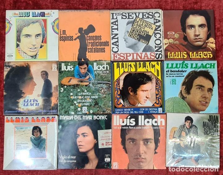 Discos de vinilo: COLECCION DE MUSICA CATALANA. 9 LP Y 27 SINGLES. VARIOS AUTORES. AÑOS 60/70. - Foto 5 - 223096476