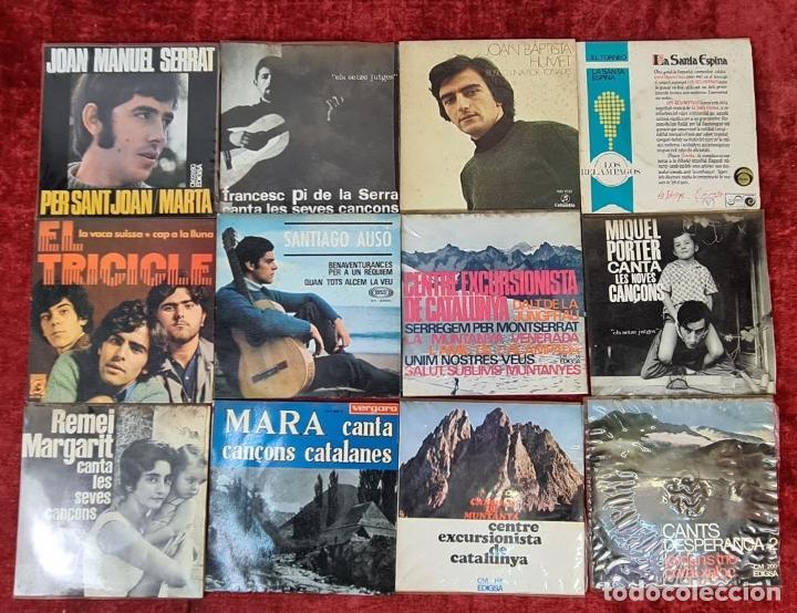 Discos de vinilo: COLECCION DE MUSICA CATALANA. 9 LP Y 27 SINGLES. VARIOS AUTORES. AÑOS 60/70. - Foto 6 - 223096476