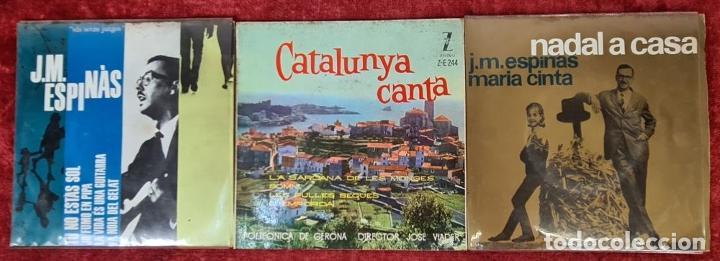 Discos de vinilo: COLECCION DE MUSICA CATALANA. 9 LP Y 27 SINGLES. VARIOS AUTORES. AÑOS 60/70. - Foto 7 - 223096476